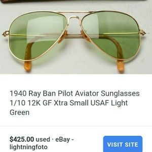 733c49e61a Ray-Ban Other - Ray Ban 12k gold filled glasses W case!  Vintage